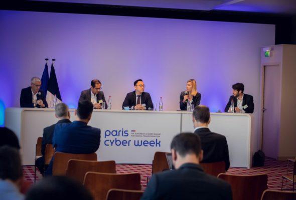 🎙Je suis intervenue à l'occasion de la @ParisCyberWeek pour décrypter l'accord #cloud OVHcloud  et Google Cloud   ➡️ Un accord hybride qui va dans le bon sens, faisant le lien entre notre savoir-faire français et une technologie de pointe.  Nous devons aussi continuer à développer un cloud européen pour garantir notre souveraineté numérique.