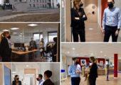 Annemasse / visite des nouveaux locaux de Pôle emploi