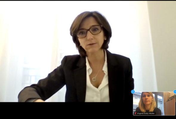 Audition mercredi de Mme Nathalie Elimas, secrétaire d'État chargée de l'enseignement prioritaire