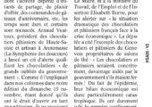 Lettre au gouvernement sur la situation des chocolatiers