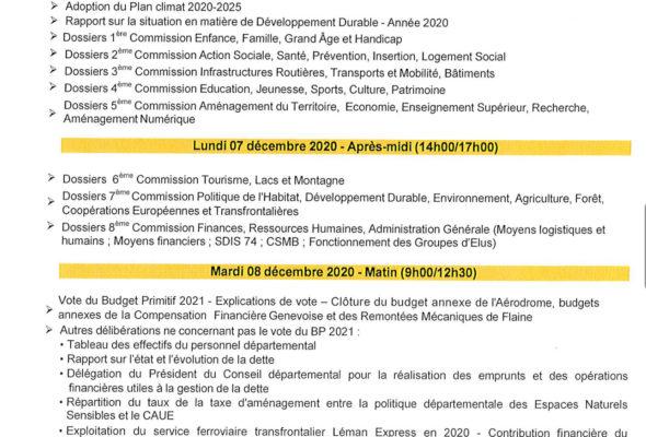 📊 Mardi, le Conseil départemental a adopté à l'unanimité le budget primitif 2021