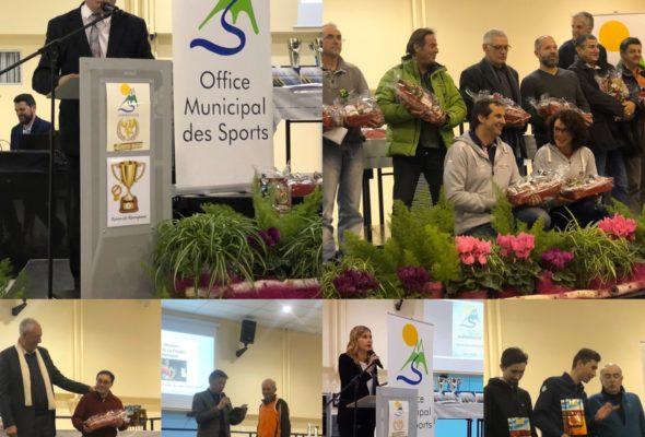 Annemasse / cérémonie des récompenses aux sportifs