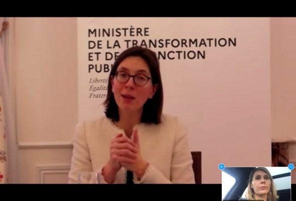 Audition d'Amélie de Montchalin, ministre de la Transformation et de la Fonction publiques, sur le programme en faveur de l'égalité des chances pour l'accès à la fonction publique.
