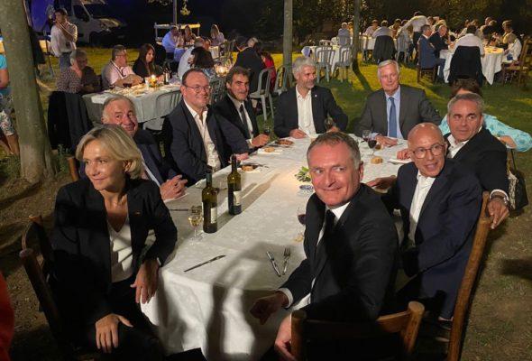 Nîmes / journées parlementaires du groupe LR avec l'ensemble des candidats à la présidentielle de notre famille politique