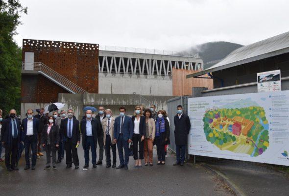 Gaillard / extension de l'usine de dépollution des eaux, Ocybèle