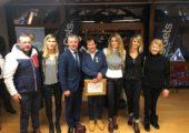 Les Gets / remise de la médaille d'or du tourisme à Pierre Combépine
