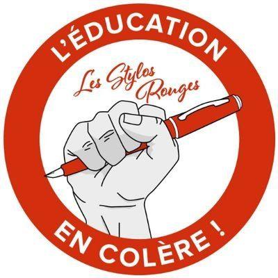 Visioconférence avec le collectif des Stylos rouges de l'Académie de Grenoble