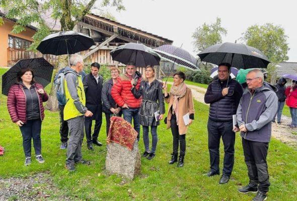 Andilly – Présilly / Inauguration du parcours des graniteurs et du Cromlech