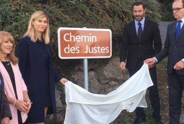 St-Cergues / inauguration du «chemin des Justes»