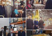 Saint-Julien / visite de l'entreprise Décoral, lauréate du fonds de modernisation et de diversification de l'aéronautique