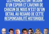«Non, M. Macron, tout le monde n'est pas à vendre» in Le Figaro / Olivier Marleix – François-Xavier Bellamy – Pr Philippe Juvin – David Lisnard – Julien Aubert – Virginie Duby-Muller – Arnaud Danjean