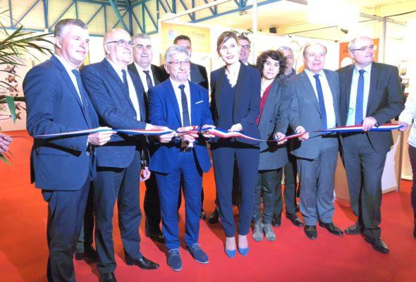 Annemasse / Inauguration du salon des frontaliers