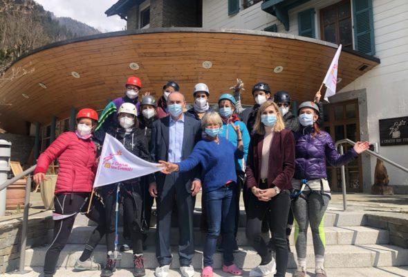 Chamonix / visite de l'association «À chacun son Everest» fondée par Christine Janin