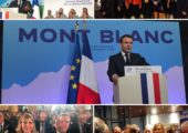 Chamonix – St-Gervais / visite du Président de la République