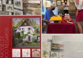 St-Julien-en-Genevois / vernissage de l'exposition de Marie-Pierre Maurer