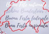 Joyeux 1er août à nos amis suisses à l'occasion de la fête nationale 🇨🇭