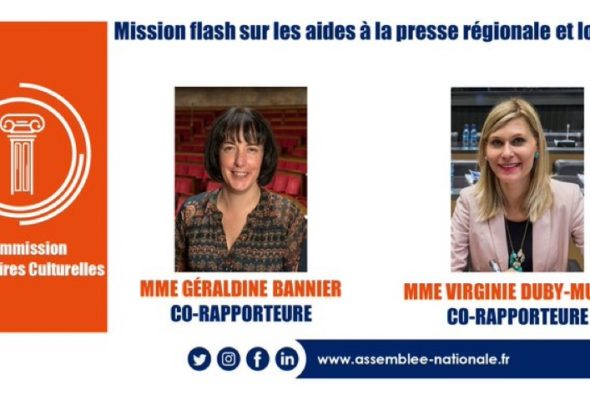 🗞📰 Présentation des propositions de la mission-flash avec Géraldine Bannier sur les aides à la presse régionale et locale
