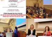 «Etre femme en politique, ce qu'il faut savoir pour réussir mais qu'on ne vous dit pas» – intervention lors du forum organisé par Elle Active