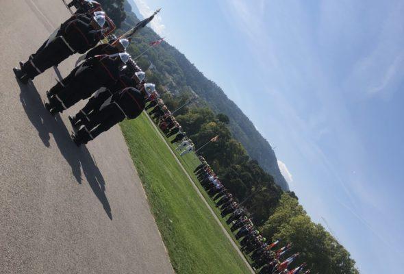 🇫🇷🚒 Journée d'hommage aux sapeurs-pompiers de la Haute-Savoie victimes du devoir suivie de la journée nationale des sapeurs-pompiers et du corps départemental.