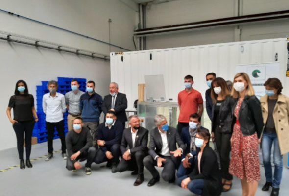 Alby-sur-Chéran / visite de CoolLabs et son système innovant Immersion4