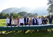Présilly / Signature des Contrats de Territoires Espaces Naturels sensibles du Salève et du Vuache.
