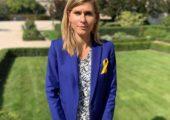 Comme l'année dernière, je porte le ruban du «Septembre en Or» pour rappeler que la lutte contre les cancers pédiatriques ne doit pas faiblir.