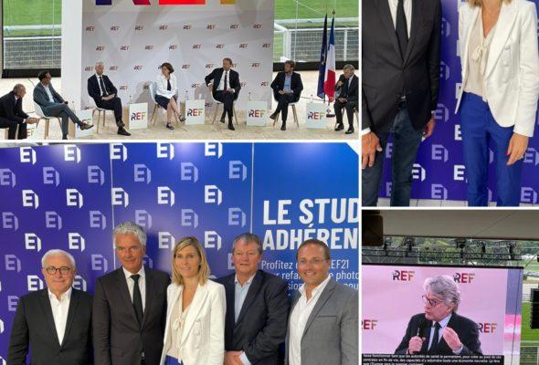 """3ème édition de la Rencontre des entrepreneurs de France qui s'est déroulée à l'hippodrome de Longchamp """"A l'air libre"""" #LaRef21"""