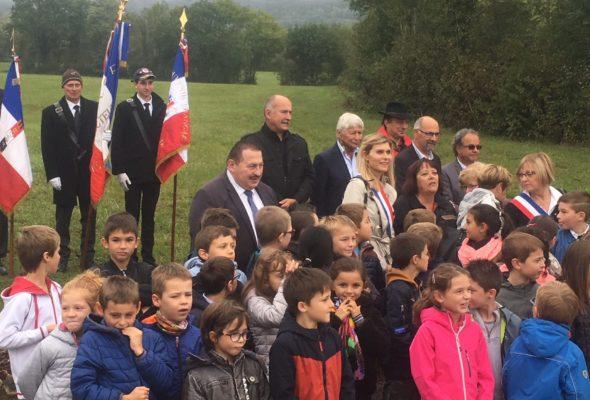 Cérémonie du 75ème anniversaire de la Libération sur le Plateau des Daines