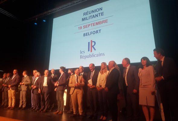 Belfort / séminaire de rentrée des députés Les Republicains