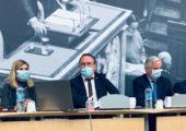Réunion du groupe des députés LR en présence de Michel Barnier pour évoquer le Brexit, ses conséquences et ses enseignements.