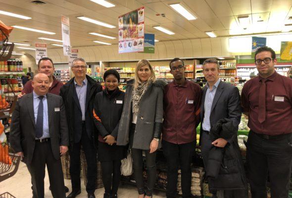 Visite du magasin-école de Migros Genève