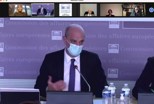 Audition de Jean-Michel Blanquer, ministre de l'Education nationale, de la Jeunesse et des Sports