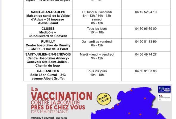 💉🦠 La campagne de vaccination débute aujourd'hui