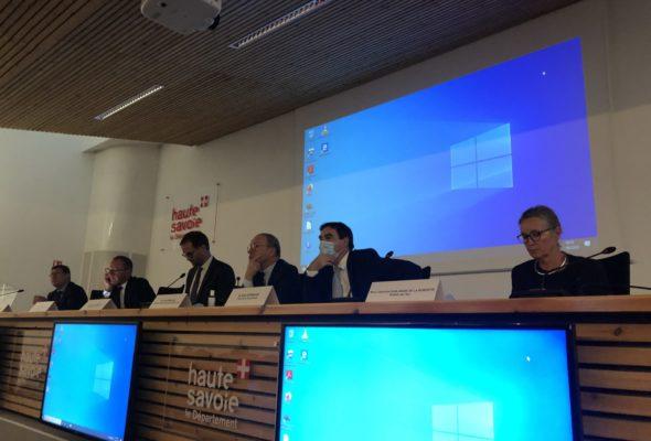 Annecy / réunion de l'instance politique de coopération  🇫🇷 🇨🇭