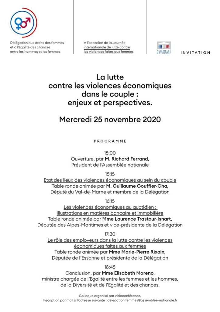 DDF - Progamme du colloque violences économiques