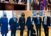 Déplacement en Haute-Savoie du président du Sénat, Gérard Larcher