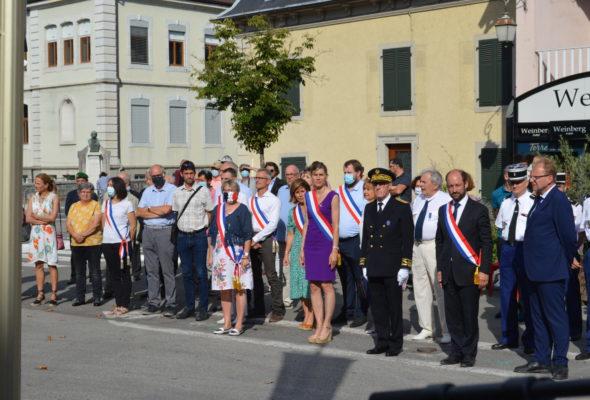 Saint-Julien-en-Genevois / célébration du 14 juillet