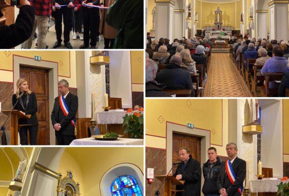 Menthonnex-sous-Clermont / inauguration de la restauration de l'église