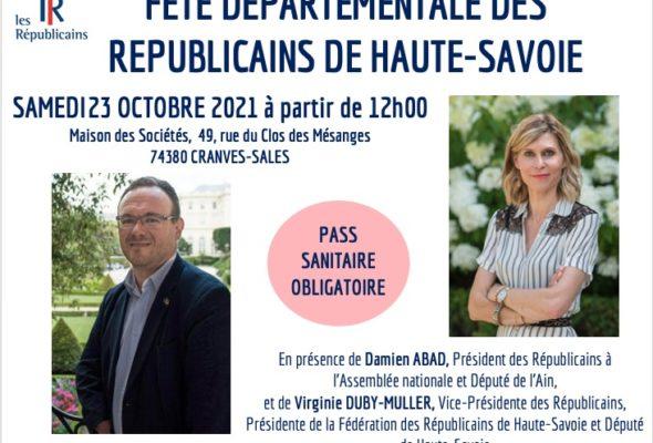 Cranves-Sales / fête départementale de la fédération LR de Haute-Savoie