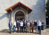 Valleiry / ⛪️ Cérémonie pour la rénovation intérieure de l'église  ! Un beau projet porté par la mairie et soutenu par la région et le département !