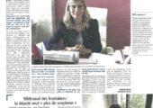 Interview dans le Messager sur la sécurité et le télétravail des frontaliers à Annemasse