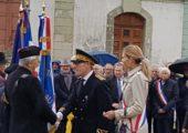 Cérémonie pour la prise de fonction de Jean-Luc BLONDEL, nouveau Sous-Préfet de l'arrondissement de Saint-Julien-en-Genevois