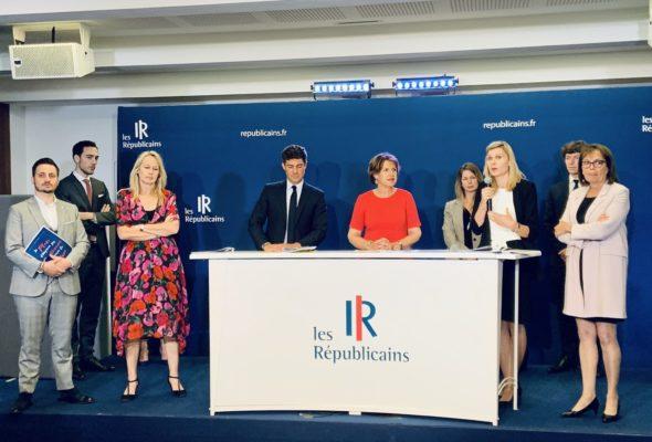 Les Républicains / Conférence de presse de présentation du plan culture