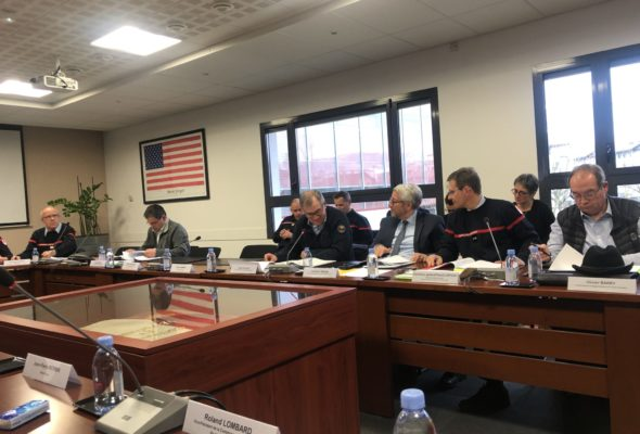 Meythet / Conseil d'administration du SDIS 74