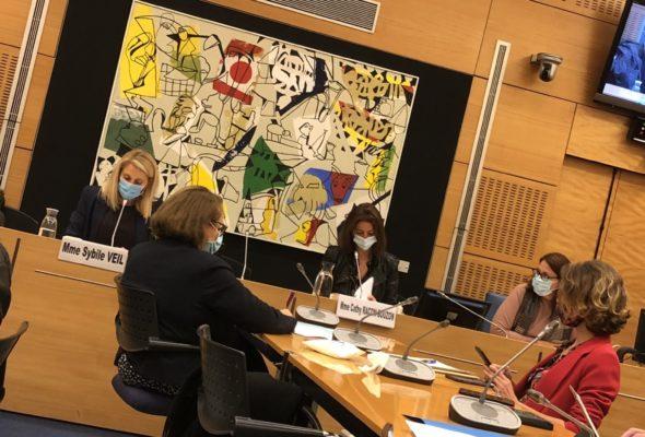 Audition de Sybile Veil, PDG de Radio France sur l'exécution du COM 2019