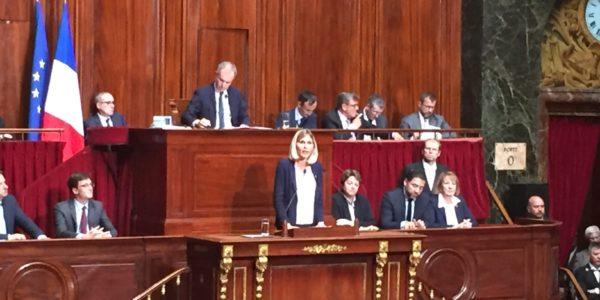 Intervention devant le Parlement réuni en Congrès à Versailles